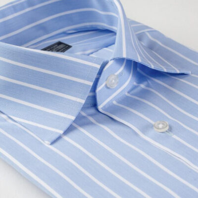 Blue Stripe Formal Shirt Brightman
